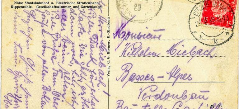 Postkarten aus der Gartensiedlung
